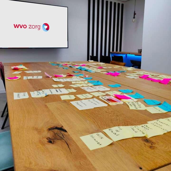 Vandaag hebben we samen met@wvozorg de eerste stap gezet in de ontwikkeling van hun nieuwe corporate website. Middels een#CardSortingsessie hebben we complexe informatie en data gebundeld en gecategoriseerd, met als doel een basis te leggen voor een gebruiksvriendelijke en logische navigatiestructuur. Next up:#prototypingen#webdesign🎨 Mooie klus!💡🤓#wvozorg