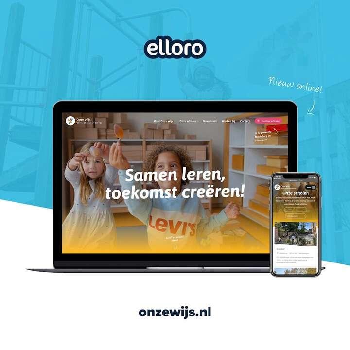 De scholen beginnen weer! Voor scholengemeenschap @onzewijs ontwikkelden we 12 websites. Alle 12 sites zijn te beheren vanuit hetzelfde CMS èn zijn slim met elkaar gekoppeld. Check: www.onzewijs.nl 📚🎒😄  #websites #fotografie #agency #zeeland
