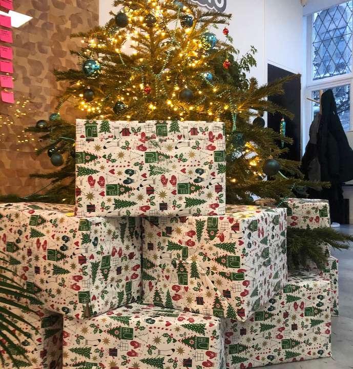 Fort Rammekens is er niks bij! #kerstpakketten voor onze harde (thuis)werkers! 🎅🤶🎄🏰