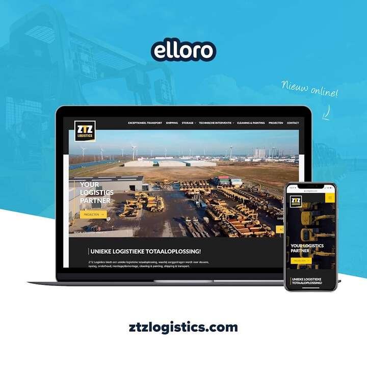 Voor ZTZ Logistics ontwikkelden we een gloednieuwe corporate website en draaiden we nieuwe promotievideo's 🎥😁. ZTZ Logistics b.v. heeft een unieke leidende positie op gebied van service voor heavy-duty materieel 🔧⚙️. #fullservice #website #video #content