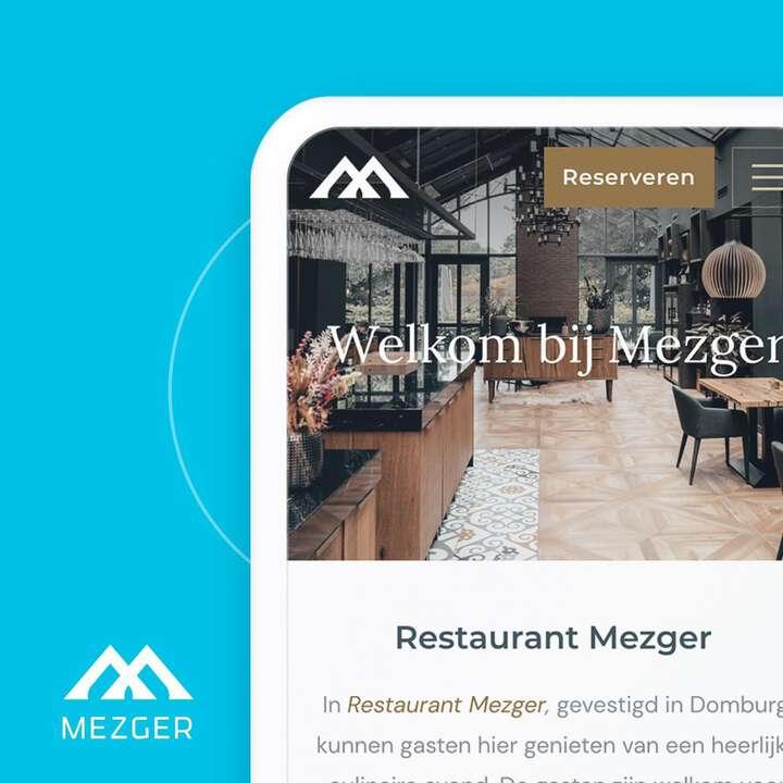 Nieuw online, de website van @restaurantmezger en @bistrobymezger. Binnenkort nog mooie nieuwe beelden op de site om het compleet te maken! 👍😋 #goodfood #webdesign #mezger #Zeeland